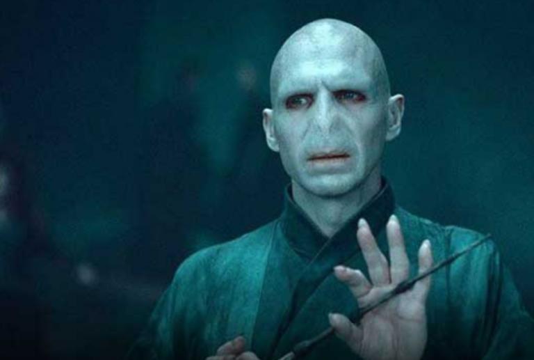 L'attore di Voldemort in Harry Potter